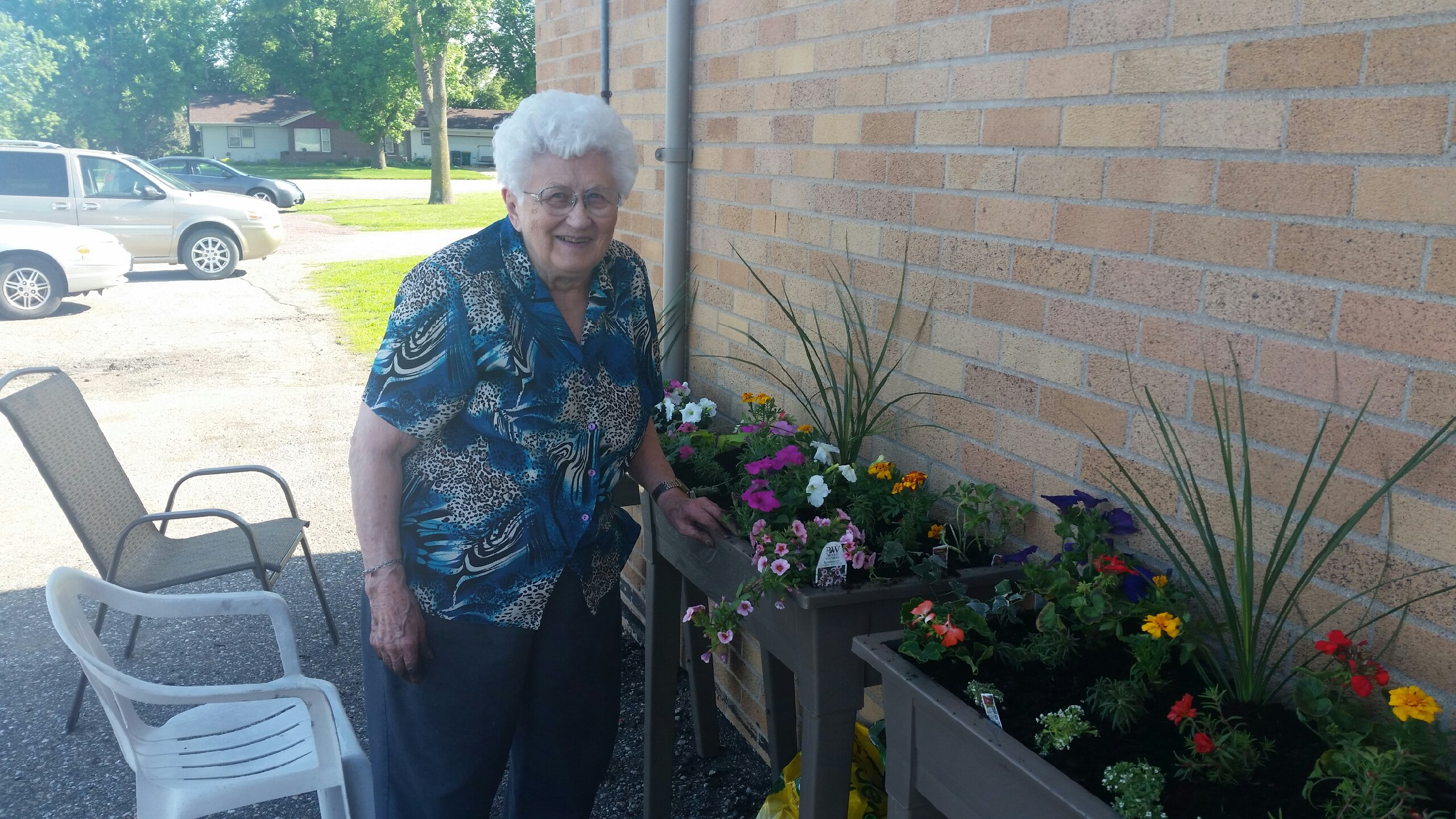 Flowers at Lakeview Assisted Living