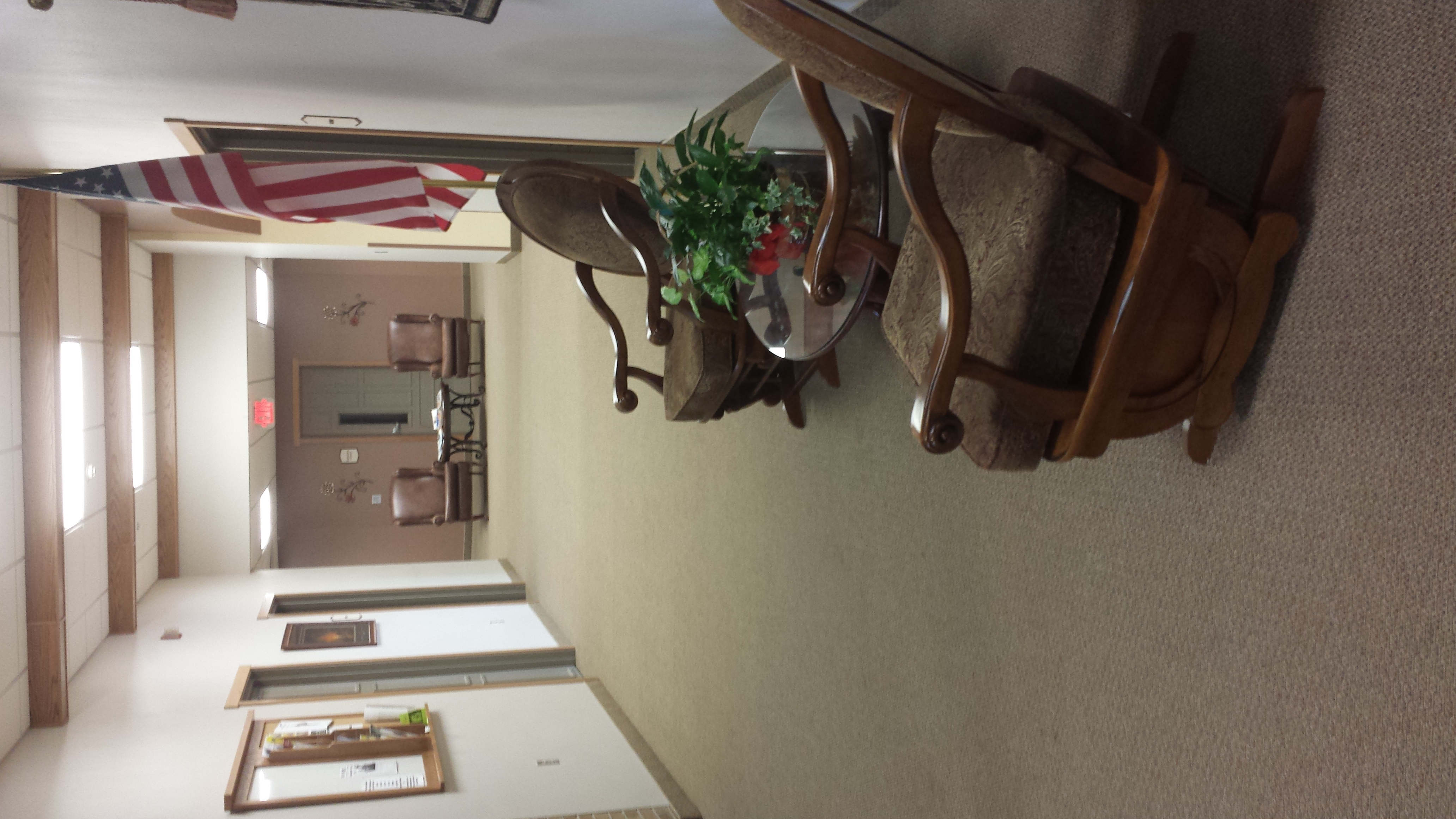Lakeview Assisted Living hallway